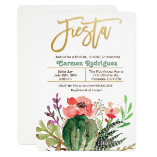 ANY EVENT - Fiesta Floral Invitation