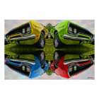 Any Flavour You Like - 1970 Plymouth Road Runner Poster