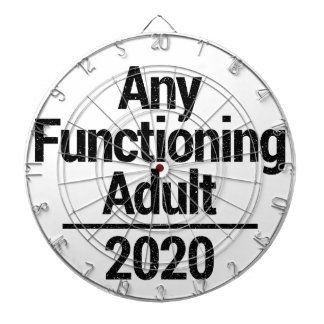 Any Functioning Adult 2020 Dartboard