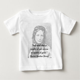Any Mind - Harriet Beecher Stowe Baby T-Shirt