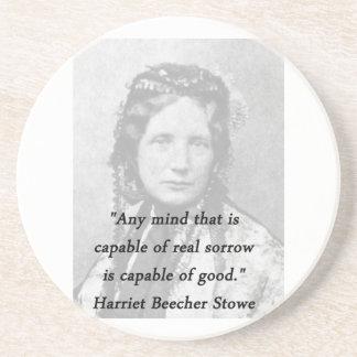Any Mind - Harriet Beecher Stowe Coaster
