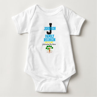 Any Name Family Reunion with Any Date - Baby Bodysuit