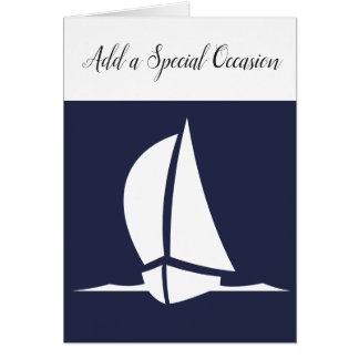 Any Occasion Sailboat Card