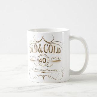 Any Old Birthday Gold OGSA Basic White Mug