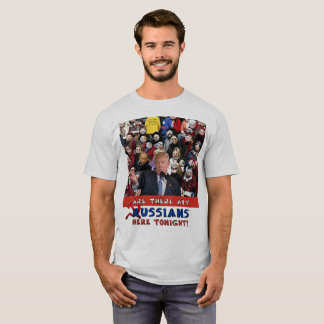 Any Russians, Trump Rally, Trump, Russia, Emoji T-Shirt