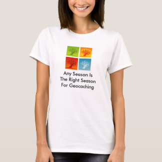 Any Season Is the Right Season for Geocaching Tee