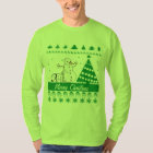 Any Text Dog Pee On Snowman Ugly Christmas Sweater