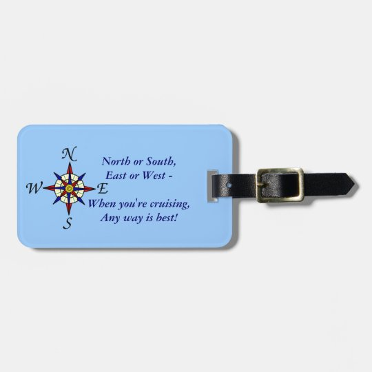 Any Way Personalized Luggage Tag
