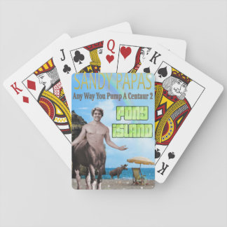 Any Way You Pump A Centaur 2 Playing Cards