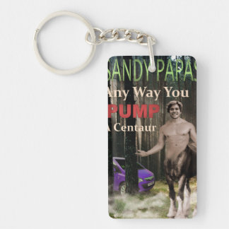 Any Way You Pump A Centaur Double-Sided Rectangular Acrylic Keychain