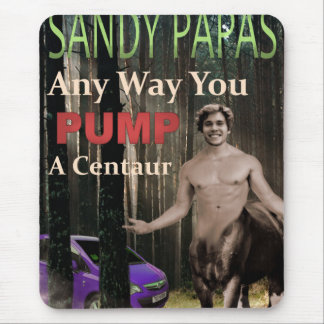 Any Way You Pump A Centaur Mouse Pad