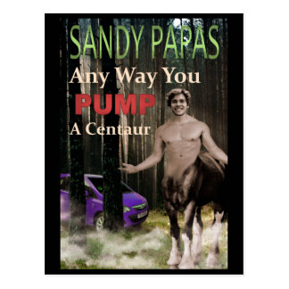Any Way You Pump A Centaur Postcard