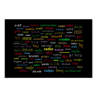 Any Way You Say It, It's Radio Poster