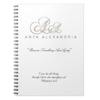 Anya Alexandria Promo Simple Notebook