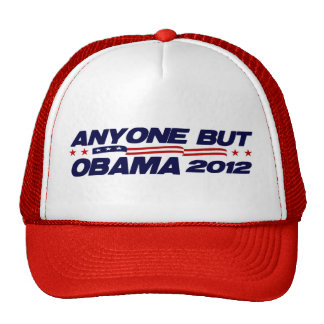 Anyone But Obama 2012 Trucker Hat