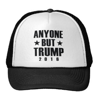 Anyone But Trump Trucker Hat