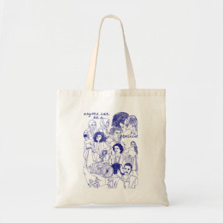 anyone can be a feminist tote