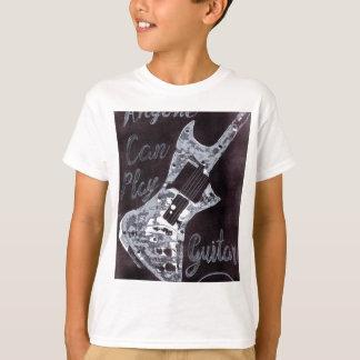 Anyone Can Play Guitar T-Shirt