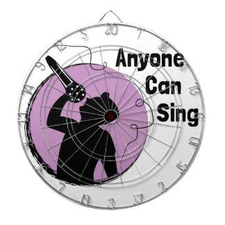 Anyone Can Sing Dartboard