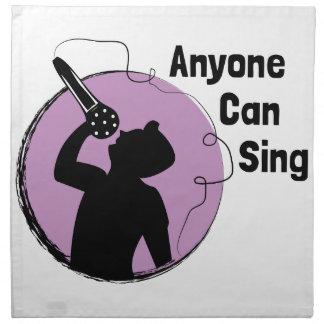 Anyone Can Sing Napkin