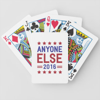 Anyone Else 2016 Bicycle Playing Cards