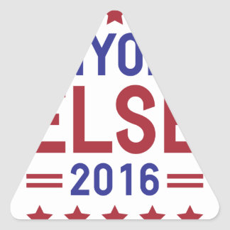 Anyone Else 2016 Triangle Sticker