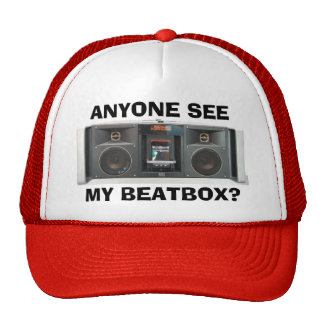 Anyone See My Beatbox? Trucker Hat