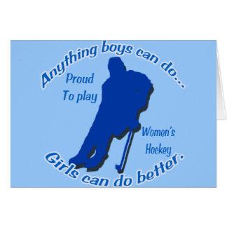 Anything Boys Can Do... Card