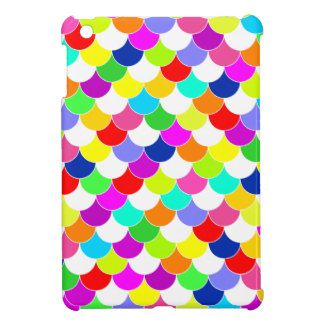 Anything But Gray Fish Scale Pattern iPad Mini Case