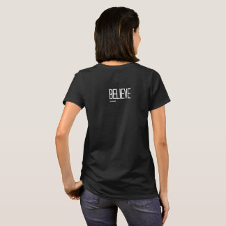 Anything is possible/believe in yourself women's t T-Shirt