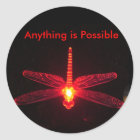 Anything is Possible Classic Round Sticker