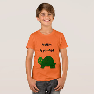 """""""Anything is Possible!"""" Confident T-shirt for Kids"""