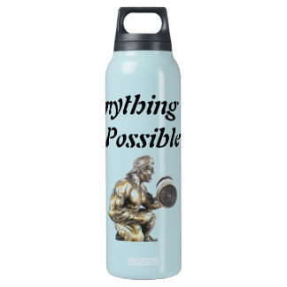 Anything of Possible Body Builder Insulated Water Bottle
