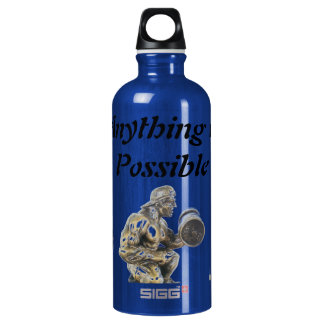 Anything of Possible Body Builder Water Bottle