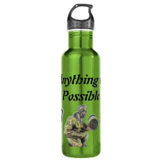 Anything of Possible Weightlifting 710 Ml Water Bottle