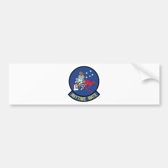 Anytime Baby F-14 Tomcat Australia Bumper Sticker