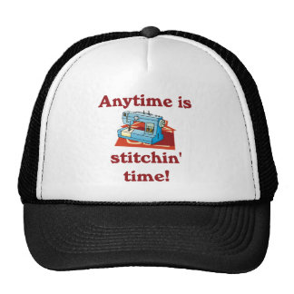 Anytime is stitchin time Seamstress Hat