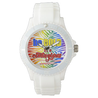 Anytime is Time to be BOLD it's Contagious Wrist Watch