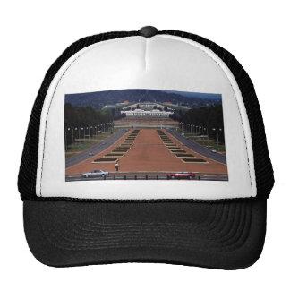 Anzac Parade and Parliament House, Canberra, Austr Trucker Hats