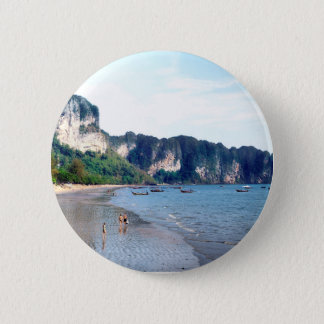 Ao Nang Beach, Krabi 2 Inch Round Button