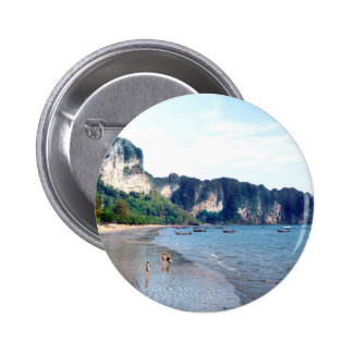 Ao Nang Beach, Krabi 2 Inch Round Button