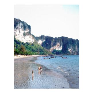Ao Nang Beach, Krabi Letterhead