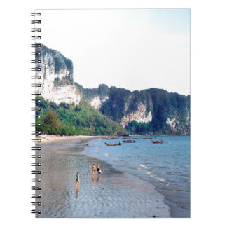 Ao Nang Beach, Krabi Spiral Notebook