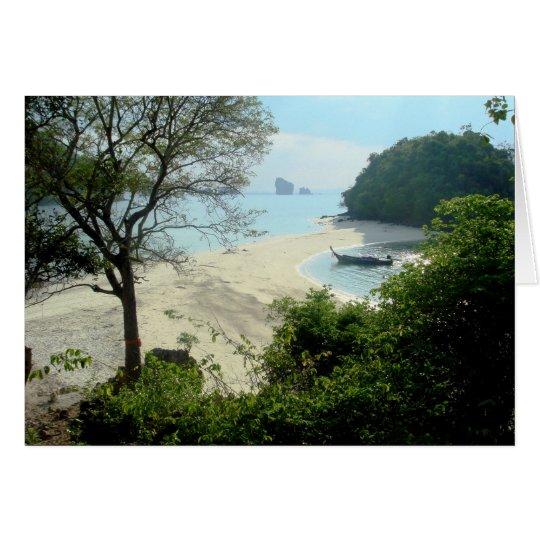 Ao Nang Beach - Thailand Card