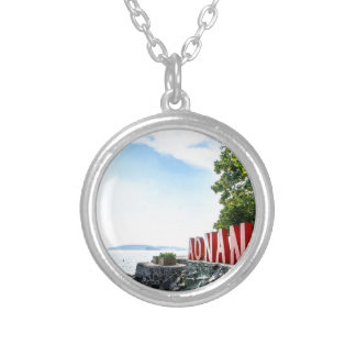 Ao Nang Sunset Beach Silver Plated Necklace