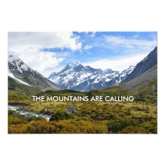 Aoraki/Mount Cook New-Zealand Photo Print