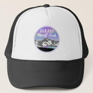 Aoraki Mount Cook New Zealand Trucker Hat