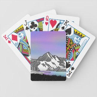 Aoraki Mount Cook NZ Bicycle Playing Cards