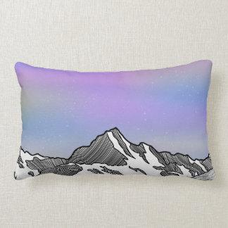 Aoraki Mount Cook NZ Lumbar Pillow