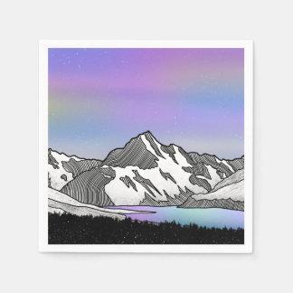 Aoraki Mount Cook NZ Paper Napkin